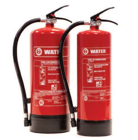 Water Jet Fire Extinguisher
